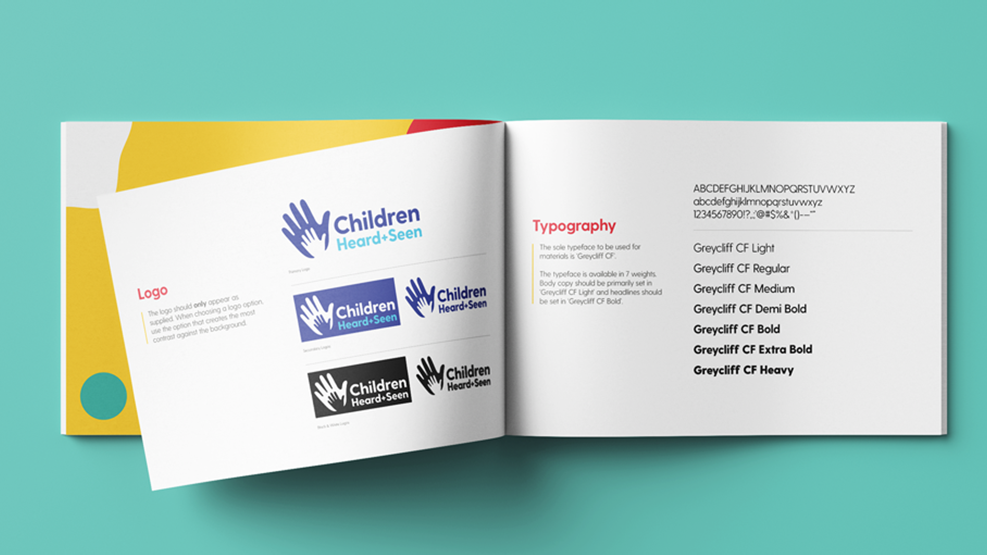 Children Heard and Seen Brand Guidelines